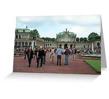 Zwinger - Dresden Germany Greeting Card