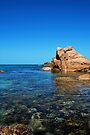The water and the rocks by Richard Owen