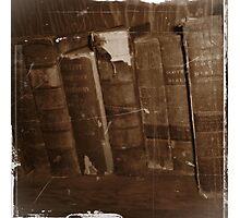 Book Shelf Photographic Print