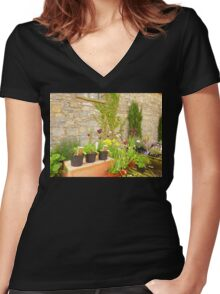 The Garden Centre Women's Fitted V-Neck T-Shirt
