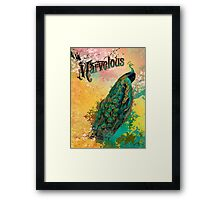 Marvelous Framed Print