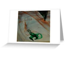 Just Swirling Around... Greeting Card