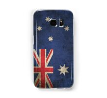 Old and Worn Distressed Vintage Flag of Australia Samsung Galaxy Case/Skin