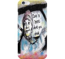 Don't You Think iPhone Case/Skin