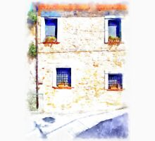 Laurana Cilento: house facade with windows Unisex T-Shirt