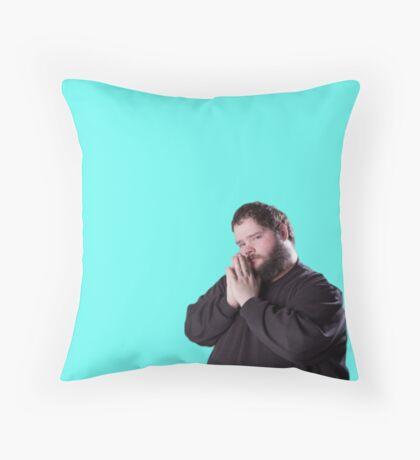 Magic the gathering buttcrack guy Throw Pillow