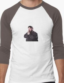Magic the gathering buttcrack guy Men's Baseball ¾ T-Shirt