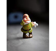 Sneezy Dwarf Photographic Print