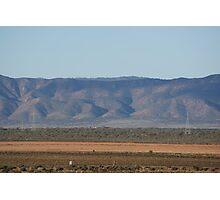 Redbanks facing the Flinders Ranges Photographic Print