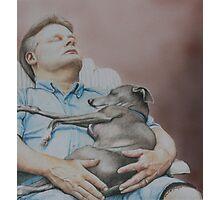 Russ and Tony-Nap Buddies Photographic Print
