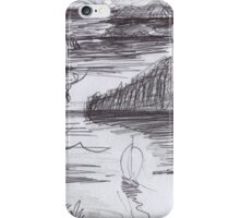 ENDLESS ISLANDS(INK PEN DRAWING)(C2007) iPhone Case/Skin