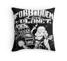 FORBIDDEN LOVE PLANET Throw Pillow