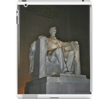 Lincoln Memorial iPad Case/Skin