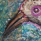 Bird - painted by Bernard Lacoque by ArtLacoque