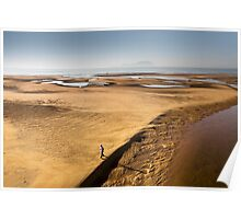 Early Morning Low Tide in the Lagoon Poster