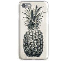 Vintage Black & White Pineapple iPhone Case/Skin