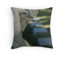 Graves in my cemetery Throw Pillow