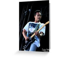 The Temper Trap Greeting Card