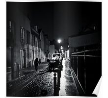 Late at Night - Montrouge, France, 2009 Poster