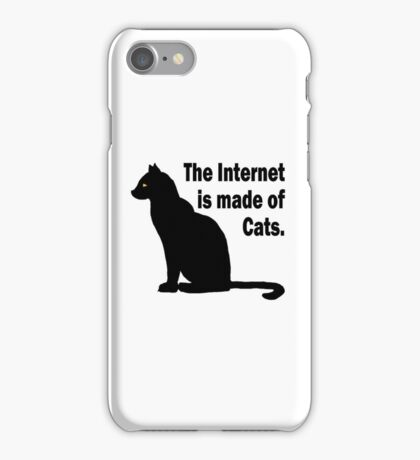 Internet is made of cats iPhone Case/Skin
