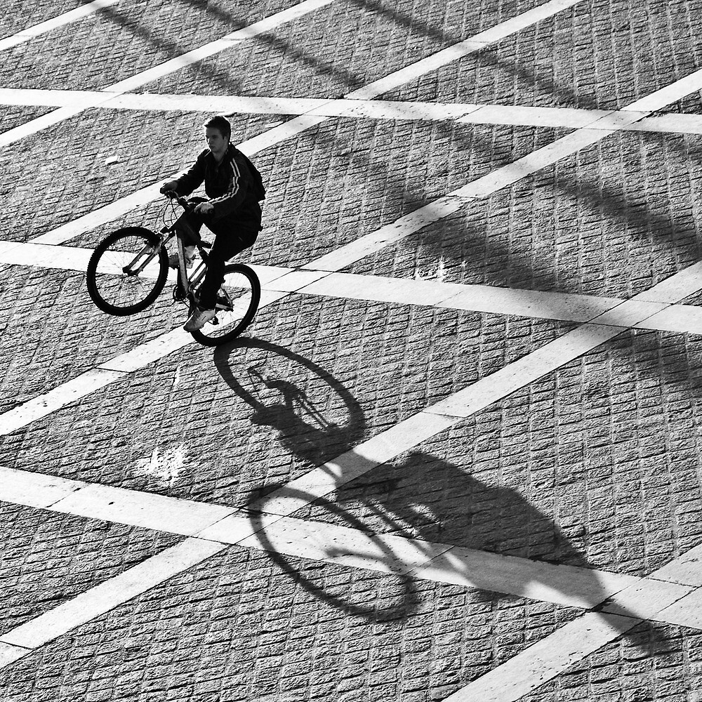 The Biker - Paris, France - 2009 by Nicolas Perriault
