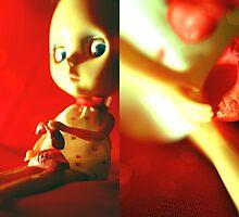 Tabatha en rouge I by Elena Ledesma