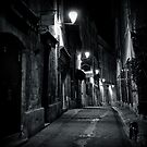 Dark Street - Montpellier, France - 2009 by Nicolas Perriault