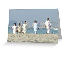 the beach boys  dubai Greeting Card