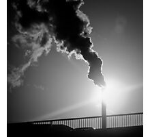 Smoke - Paris, France - 2009 Photographic Print