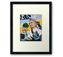 In Honor of Hillary Framed Print