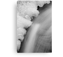 Bruar - A Winter's Flow Canvas Print