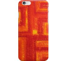 Navajo Rug original painting iPhone Case/Skin