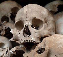 Tell Tale Skulls -- Choeung El, Cambodia  by Gorper