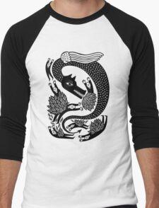 And the dragon Men's Baseball ¾ T-Shirt
