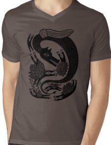 And the dragon Mens V-Neck T-Shirt