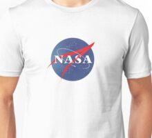 Textured NASA Logo Unisex T-Shirt