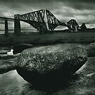 Big Rock Big Bridge by Doug Cook