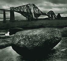 Big Rock Big Bridge by Doug Cook