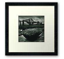 Big Rock Big Bridge Framed Print