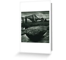 Big Rock Big Bridge Greeting Card