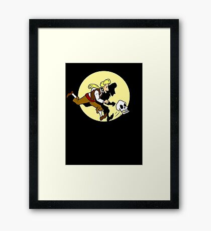The Adventures of Guybrush Framed Print