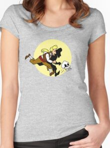 The Adventures of Guybrush Women's Fitted Scoop T-Shirt