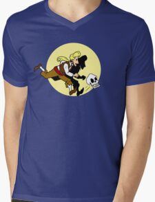The Adventures of Guybrush Mens V-Neck T-Shirt