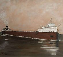 Edmund Fitzgerald by cdcantrell