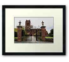 St. Mary's Church, Village of Eccleston, Nr. Chester UK Framed Print