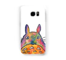 Cute Colorful Totoro! Tshirts + more! Jonny2may Samsung Galaxy Case/Skin
