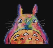 Cute Colorful Totoro! Tshirts + more! Jonny2may Kids Tee