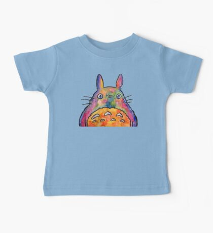 Cute Colorful Totoro! Tshirts + more! Jonny2may Baby Tee