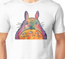 Cute Colorful Totoro! Tshirts + more! Jonny2may Unisex T-Shirt