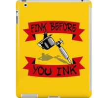 Tattoo Regret iPad Case/Skin